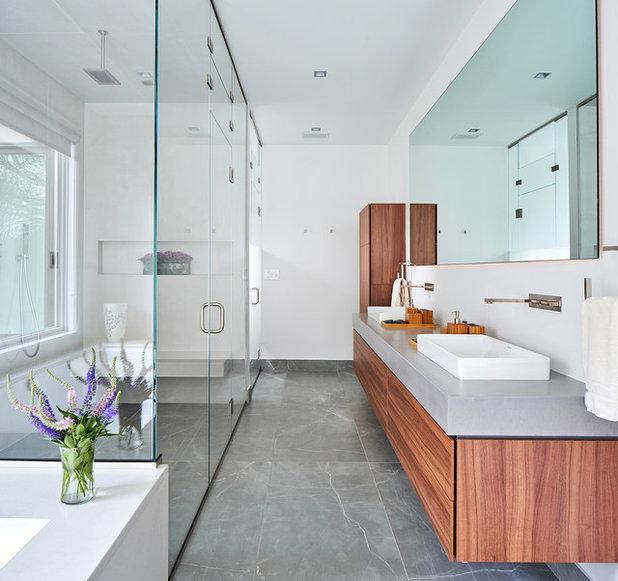 Contemporary Bathroom by Alice Pirsu Interiors