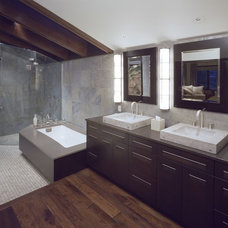 Contemporary Bathroom by Beckony Kitchens & Baths