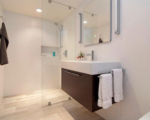 small modern bathroom design ideas remodels photos. Black Bedroom Furniture Sets. Home Design Ideas