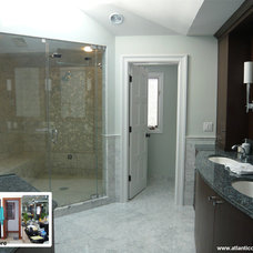 Modern Bathroom by Atlantic Construction Consulting