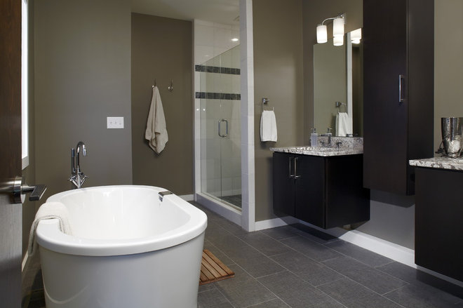 Contemporary Bathroom by Epic Development