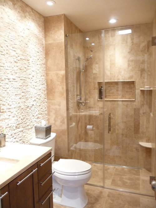Travertine Shower Ideas Pictures Remodel And Decor