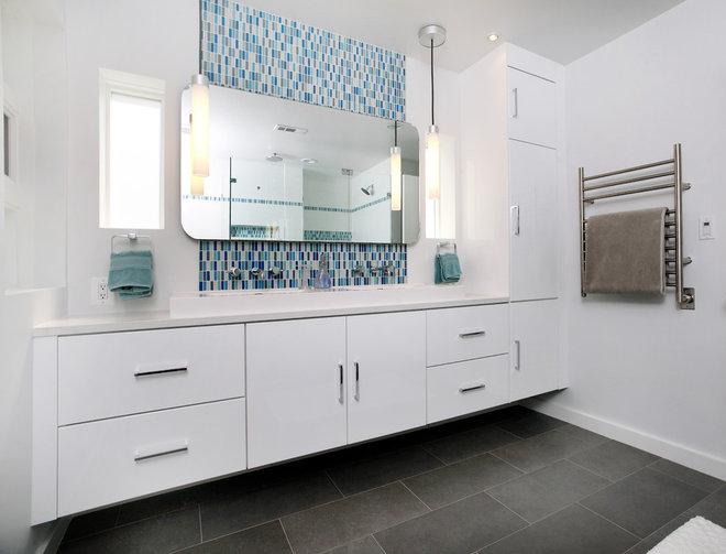 Modern Bathroom by Four Brothers LLC