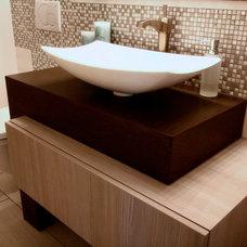 Contemporary Bathroom by Metric Design Centre