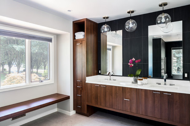 Contemporary Bathroom by AV Architects + Builders