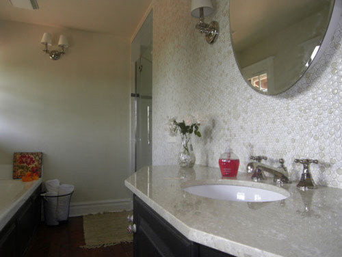 Penny Tile Wall Photos. Penny Tile Wall Ideas  Pictures  Remodel and Decor