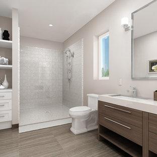 Inspiration for a modern bathroom remodel