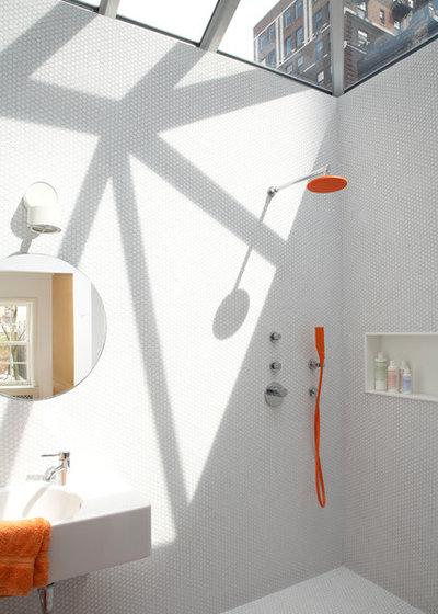 Wohnung Mit Bunten Interieur Akzenten Bilder | Bunte Armaturen Bringen Sie Farbe In Kuche Und Bad