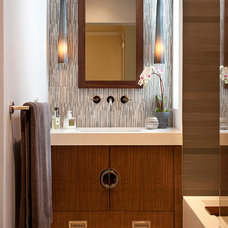 Asian Bathroom by Artistic Designs for Living, Tineke Triggs
