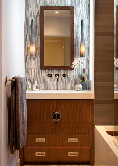 Ideal Asian Bathroom by Artistic Designs for Living Tineke Triggs