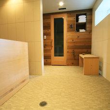 Modern Bathroom by bright designlab