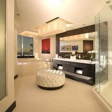 Modern Bathroom by Britto Charette Interiors - Miami Florida
