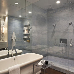 modern bathroom by Bruce Bierman Design