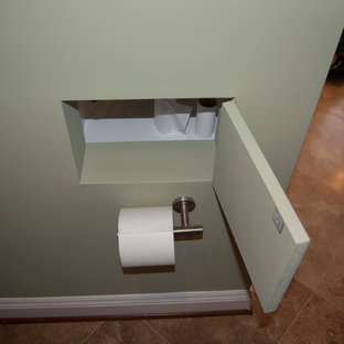 Minimalist bathroom photo in Baltimore