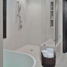 Transitional Bathroom by Carla Aston   Interior Designer