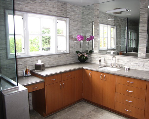 L Shaped Bathroom Home Design Ideas Pictures Remodel And