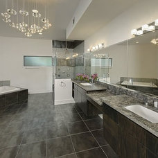 Modern Bathroom by Contour Interior Design, LLC