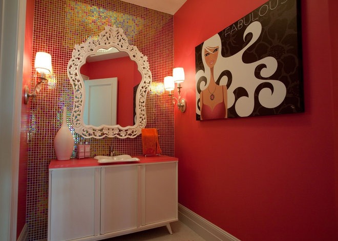 Contemporary Bathroom by Cre8tive Interior Designs