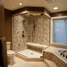 Contemporary Bathroom by Criner Remodeling