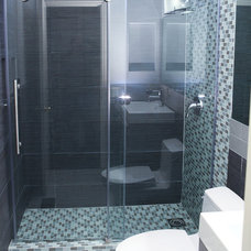 Modern Bathroom Small Bathroom Layout Remodel