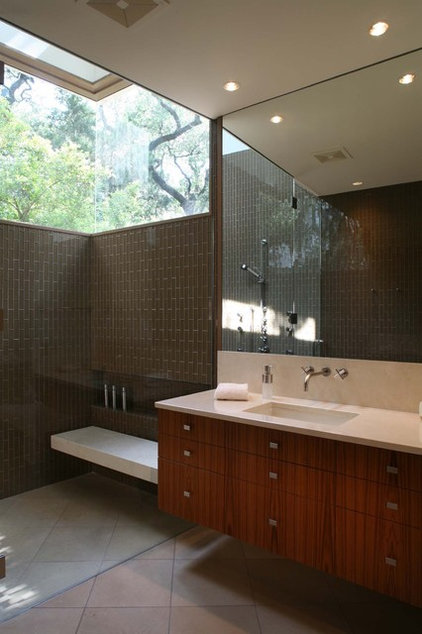 Modern Bathroom by Dick Clark + Associates