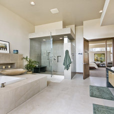 Modern Bathroom by Entasis Group