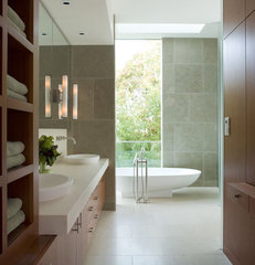 modern bathroom by Sutton Suzuki Architects