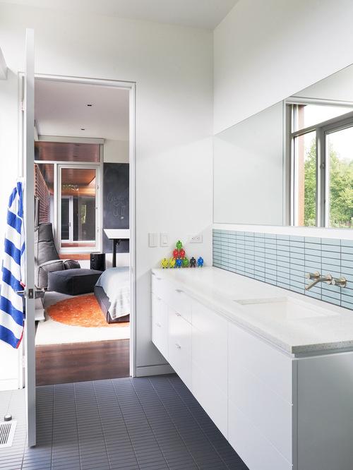 saveemail modern bathroom - Bathroom Backsplash