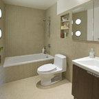 Bathroom Recycled Glass Tile