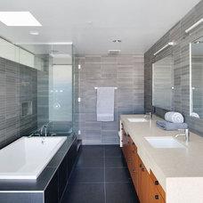 Modern Bathroom by Caesarstone