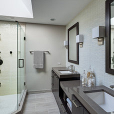 contemporary bathroom by Lugbill Designs