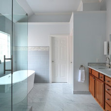 modern bathroom by Clark Harris