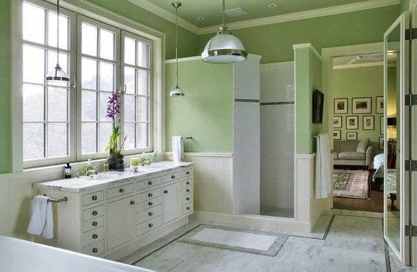 Modern Bathroom by JMA (Jim Murphy and Associates)