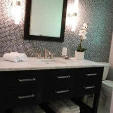 Modern Bathroom by Judith Balis Interiors