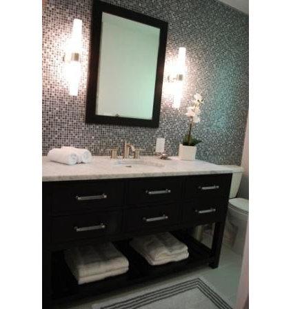 Modern Bathroom by Judith Balis Interiors