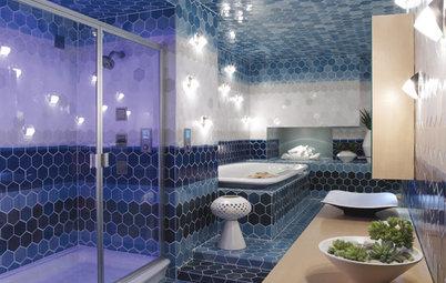 The Bathroom Goes High-Tech