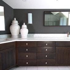 Modern Bathroom by Kristin Bramer