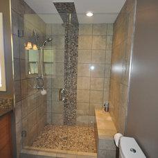Modern Bathroom by Lana Lounsbury Interiors