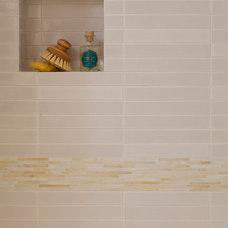 Modern Bathroom by lisa gutow design