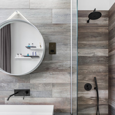 Contemporary Bathroom by Schneider Electric UK