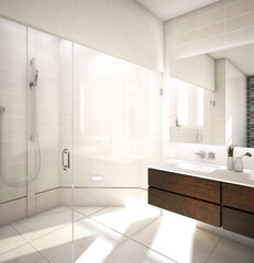 modern bathroom by Murdock Solon Architects
