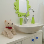 Kids Bath Contemporary Bathroom Chicago By