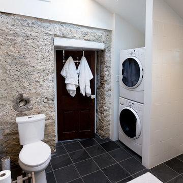 Modern Bathroom on a Heritage Home