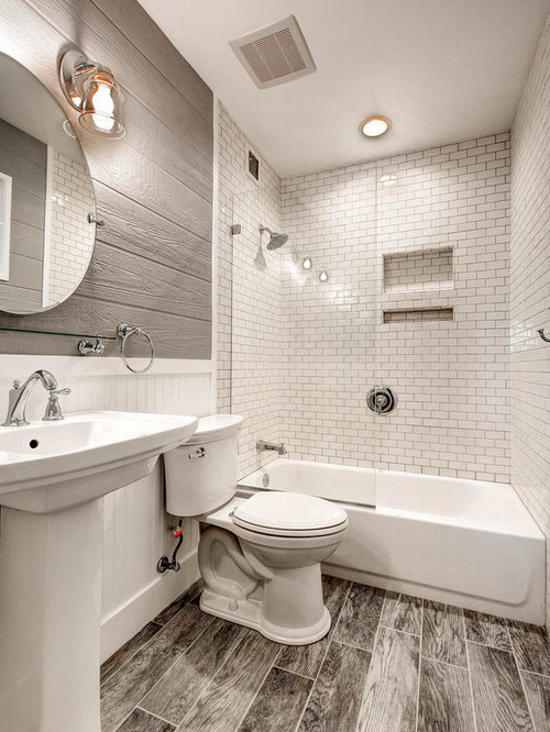 Best 25 budget bathroom ideas decoration pictures houzz for Small 2 piece bathroom designs