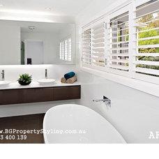 Modern Bathroom by BG Property Styling