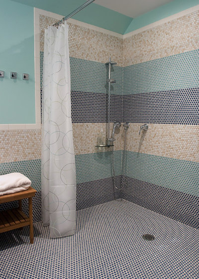 The perfect finish for your tile - Bathtub small space concept ...