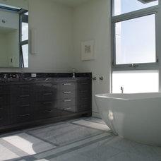 Modern Bathroom by RedSetter Building & Development