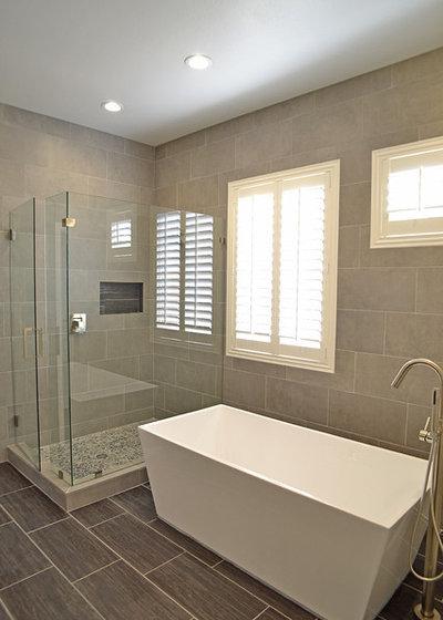 Contemporary Bathroom by AFR Construction