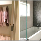 Bathroom remodeling modern bathroom dallas by home - Bathroom renovation order of trades ...