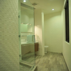 modern bathroom by See Construction